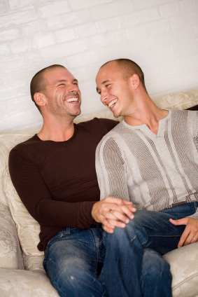 ... they own a home in a gay-friendly neighborhood. There are tons of houses ...