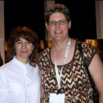Ilene Chaiken and Paula Gregorowicz